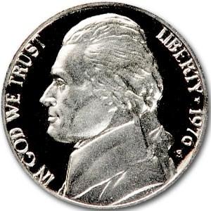 1976-S Jefferson Nickel Gem Proof