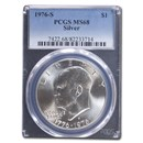 1976-S Silver Eisenhower Dollar MS-68 PCGS