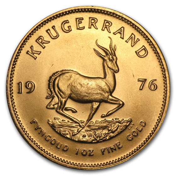 1976 South Africa 1 oz Gold Krugerrand BU