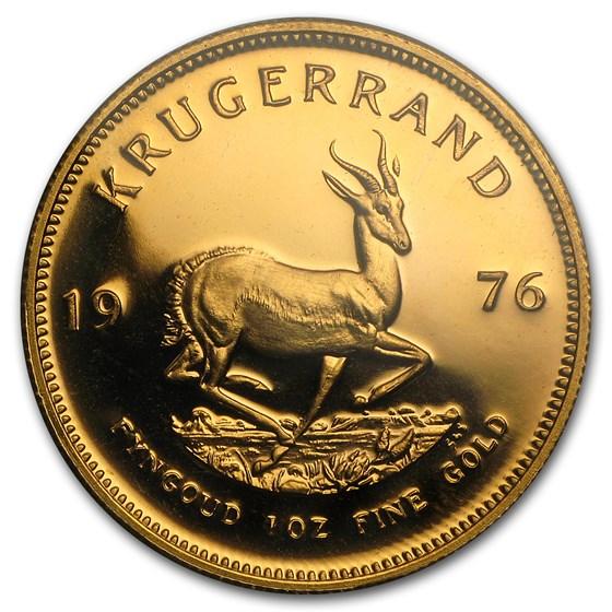 1976 South Africa 1 oz Proof Gold Krugerrand
