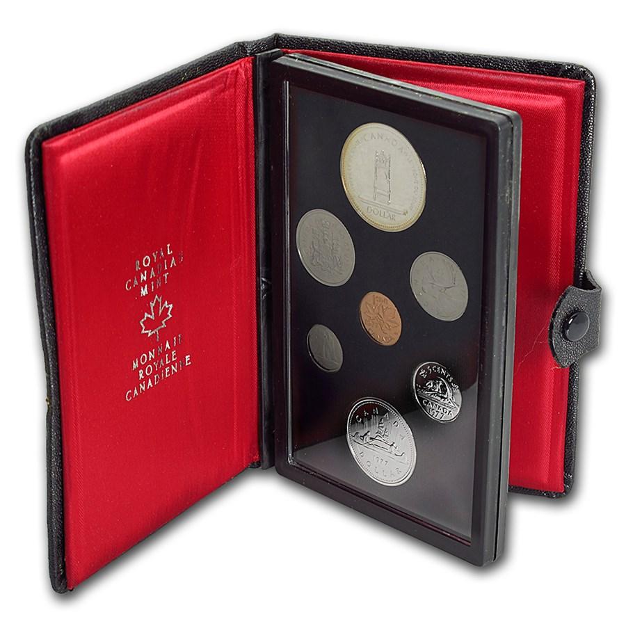 1977 Canada 7-Coin Double Dollar Specimen Set