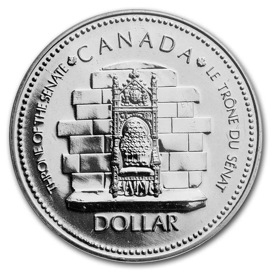 1977 Canada Silver Dollar Specimen (Queen's Silver Jubilee w/OGP)