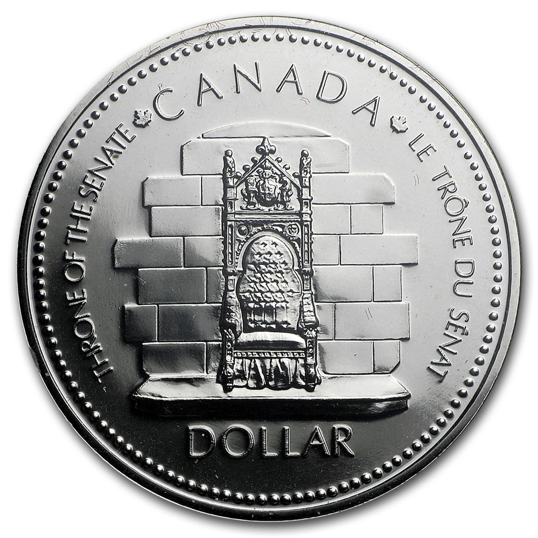"""1977 Canadian $1.00 Silver Specimen Dollar /""""Silver Jubilee Elizabeth II/"""""""