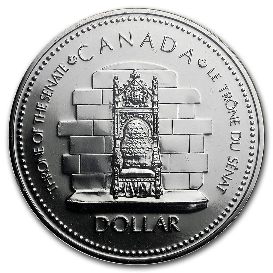 1977 Canada Silver Dollar Specimen (Queen's Silver Jubilee)
