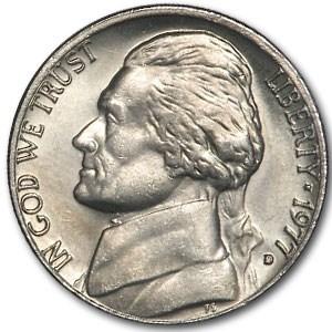 1977-D Jefferson Nickel BU