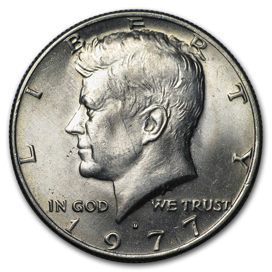 1977-D Kennedy Half Dollar BU