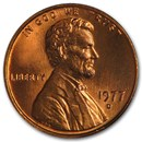 1977-D Lincoln Cent BU (Red)