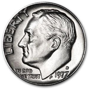1977-D Roosevelt Dime BU