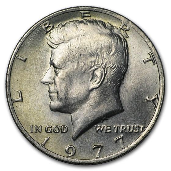 1977 Kennedy Half Dollar BU