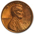 1977 Lincoln Cent BU (Red)