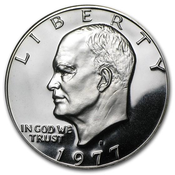 1977-S Clad Eisenhower Dollar Gem Proof