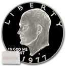1977-S Clad Eisenhower Dollars 20-Coin Roll Proof