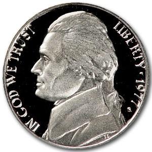 1977-S Jefferson Nickel Gem Proof
