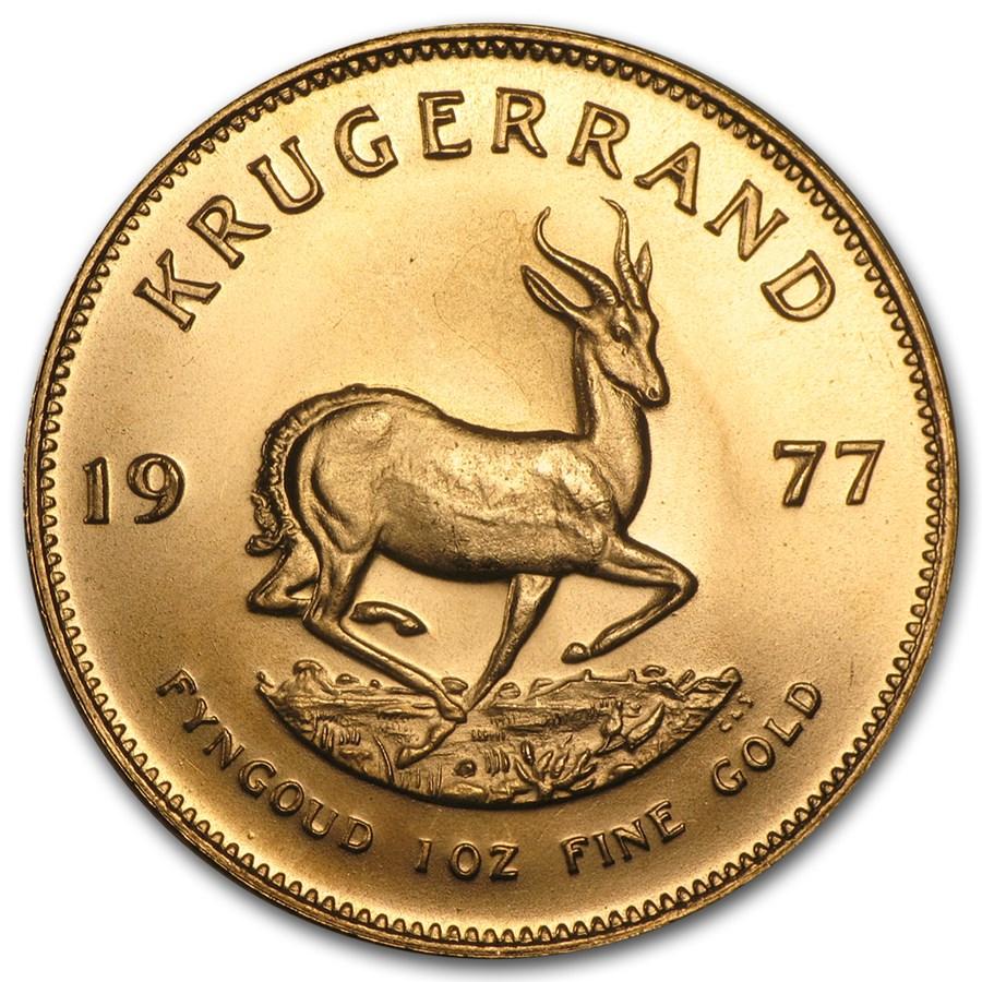 1977 South Africa 1 oz Gold Krugerrand BU