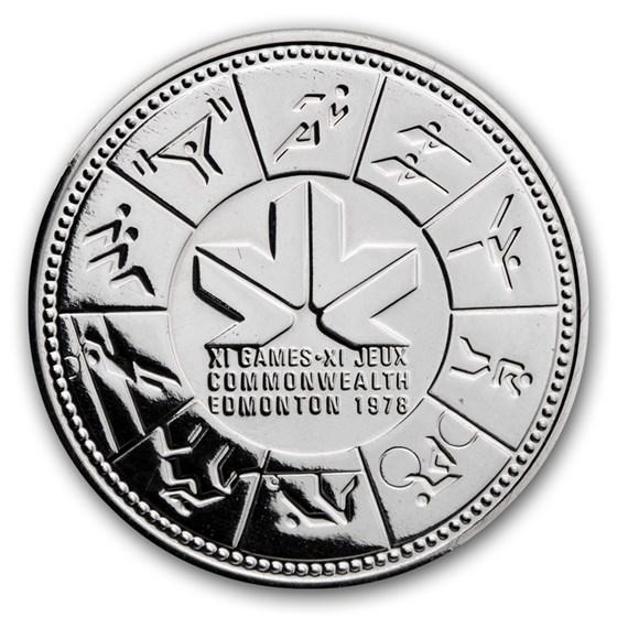 1978 Canada Silver Dollar Specimen (XI Commonwealth Games w/OGP)