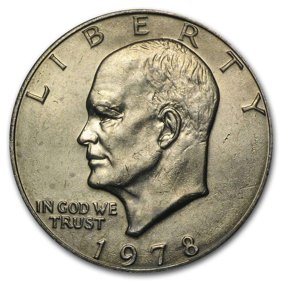 1978 Clad Eisenhower Dollar BU