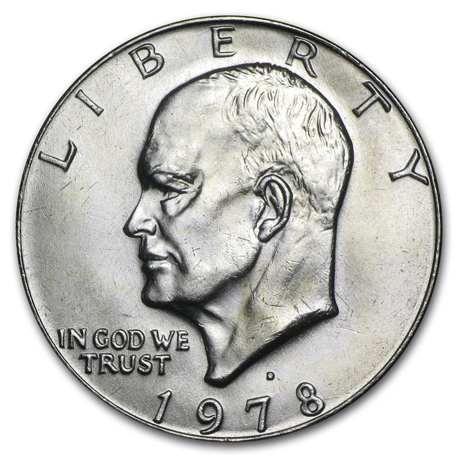 1978-D Clad Eisenhower Dollar BU