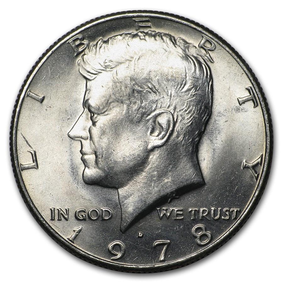 1978-D Kennedy Half Dollar BU