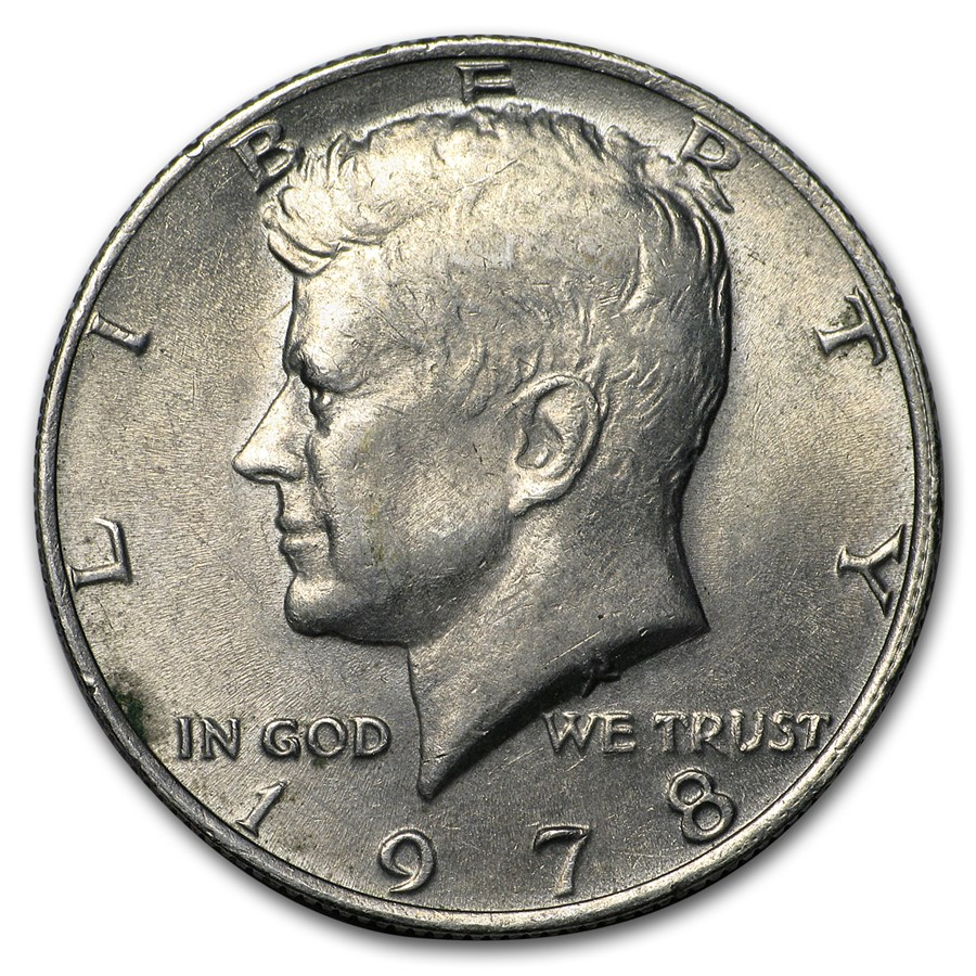 1978 Kennedy Half Dollar BU