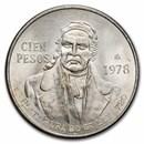 1978 Mexico Silver 100 Pesos BU