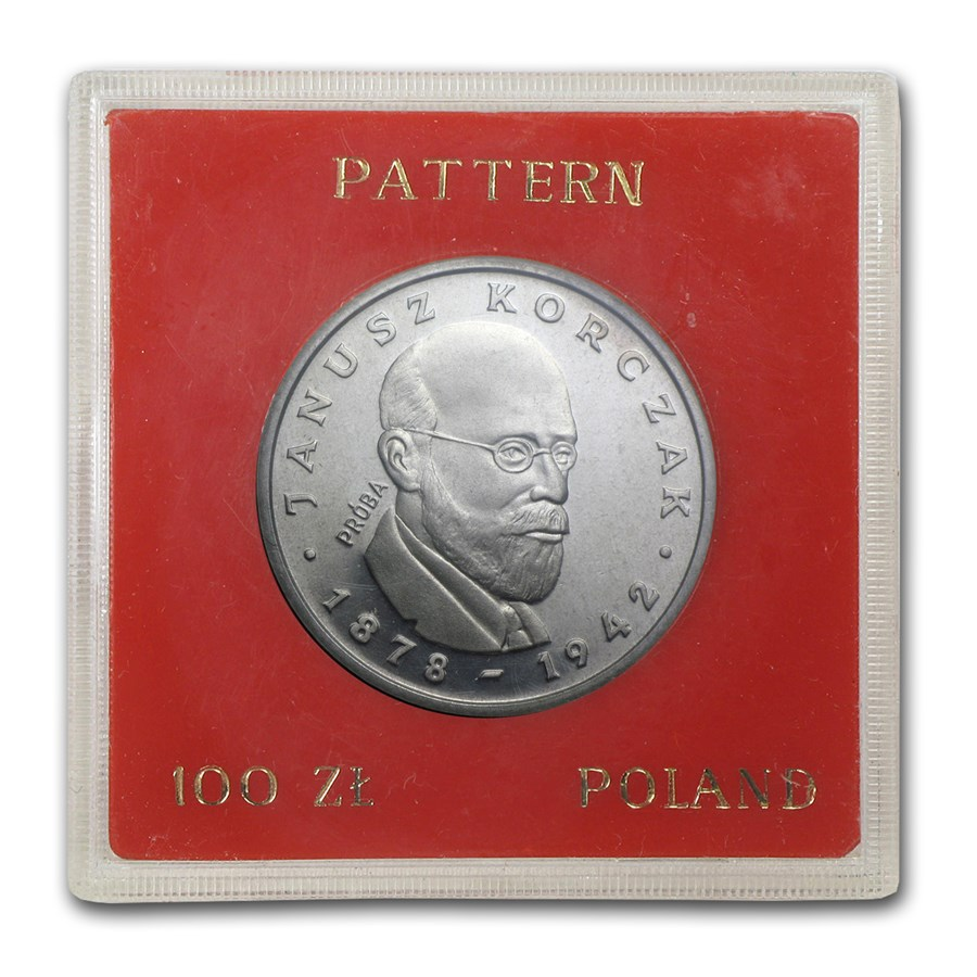 1978 Poland Silver 100 Zlotych Pattern Proof