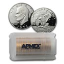 1978-S Clad Eisenhower Dollar 20-Coin Roll Gem Proof