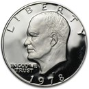 1978-S Clad Eisenhower Dollar Gem Proof