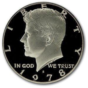 1978-S Kennedy Half Dollar Gem Proof
