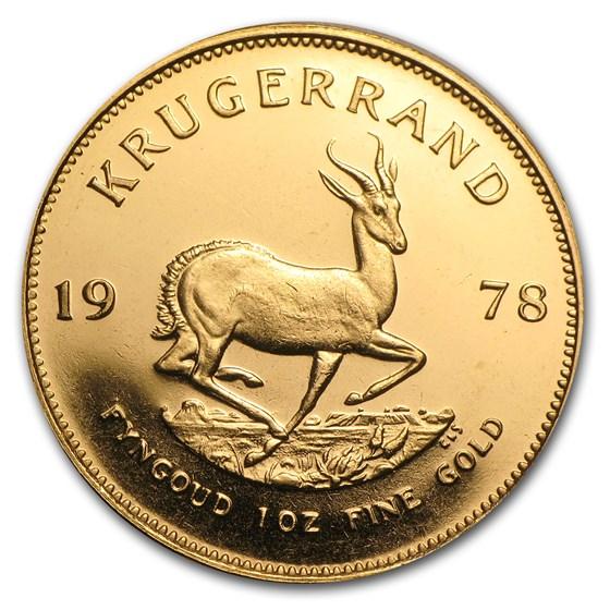 1978 South Africa 1 oz Gold Krugerrand BU