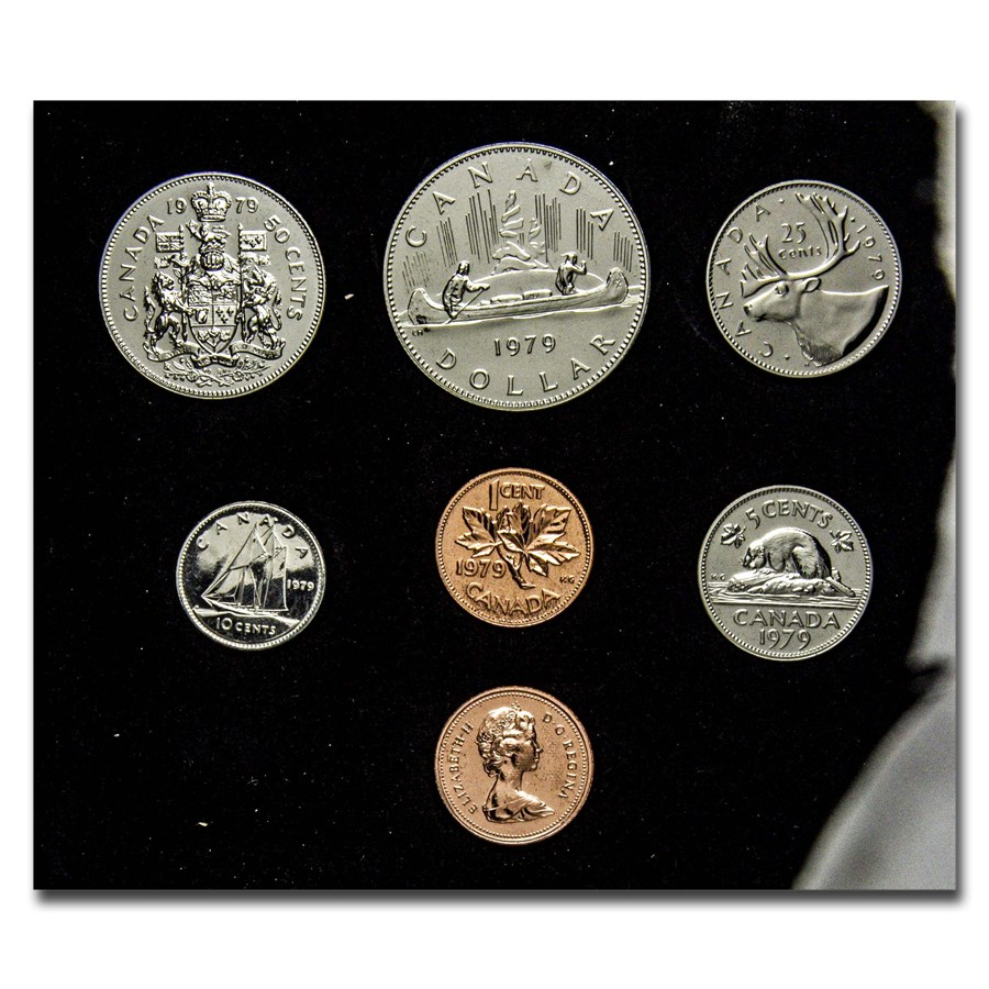 1979 Canada Double Cent Prooflike Set (Box & COA)