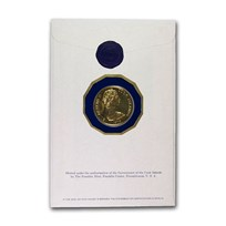 1979 Cook Islands Gold $200 Legacy of Captain Cook Proof