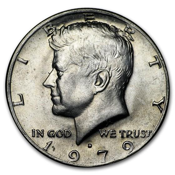 1979-D Kennedy Half Dollar BU