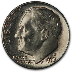 1979-D Roosevelt Dime BU