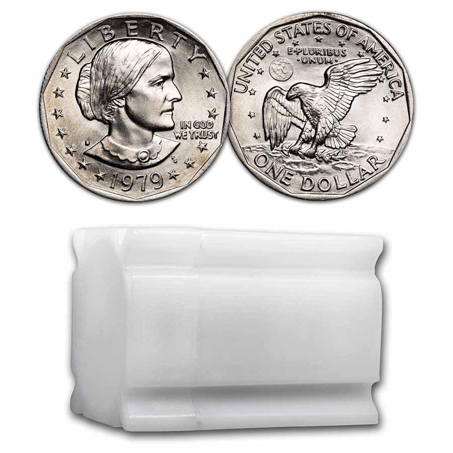 1979-D SBA 20-Coin Roll BU