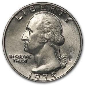 1979-D Washington Quarter BU