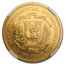1979 Dominican Republic Gold 100 Peso Pope John Paul II MS-62 NGC
