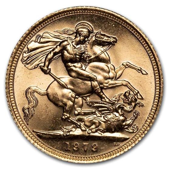 1979 Great Britain Gold Sovereign Elizabeth II BU