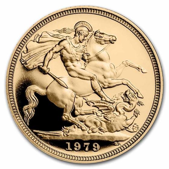 1979 Great Britain Gold Sovereign Elizabeth II Proof