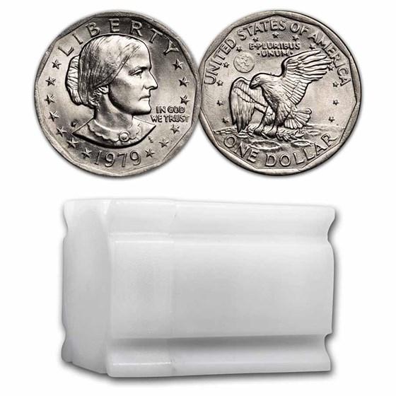 1979-P SBA 20-Coin Roll BU