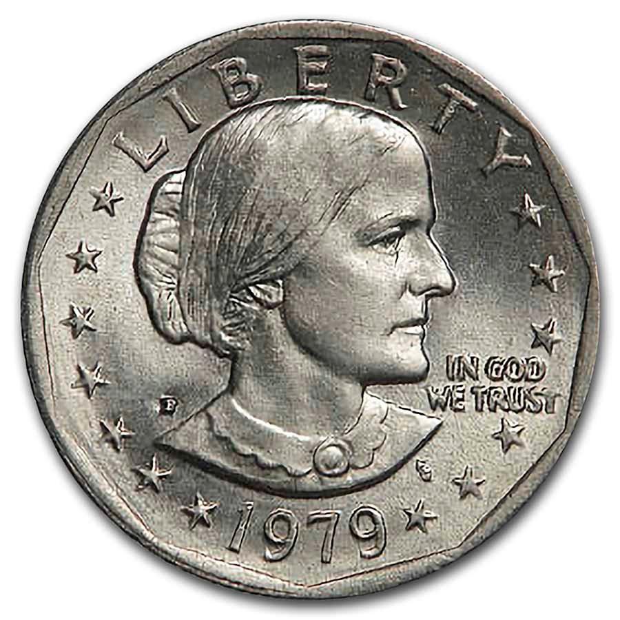 1979-P Susan B. Anthony Dollar BU