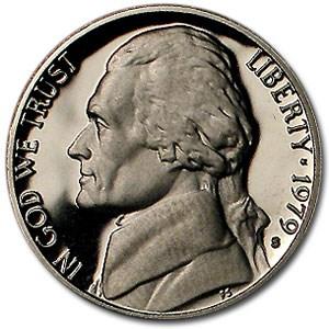 1979-S Jefferson Nickel Type-II Gem Proof