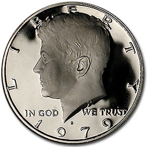 1979-S Kennedy Half Dollar Gem Proof (Type II)