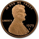 1979-S Lincoln Cent Type 1 Gem Proof (Red)