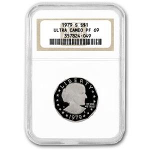 1979-S SBA Dollar PF-69 NGC