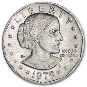 1979-S Susan B. Anthony Dollar BU