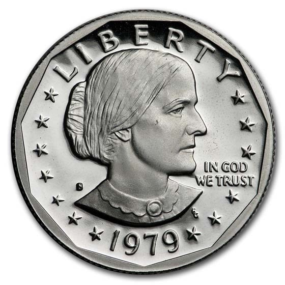 1979-S Susan B. Anthony Dollar Gem Proof Type-1