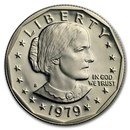 1979-S Susan B. Anthony Dollar Gem Proof Type-2