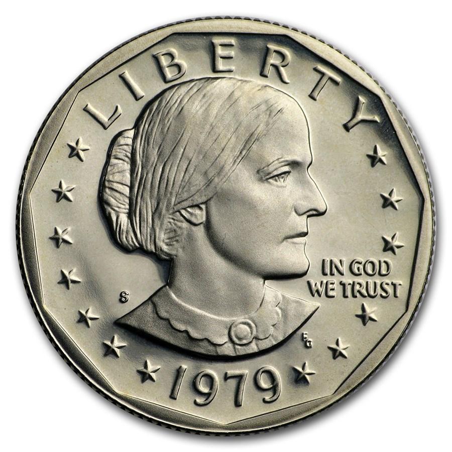1979-S Susan B. Anthony Dollar Gem Proof Type-2