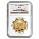 1979 South Africa 1 oz Gold Krugerrand MS-64 NGC