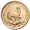 1979 South Africa Gold 2 Rand BU